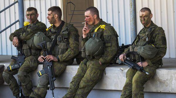 Силы обороны Эстонии совместно с союзниками НАТО. Архивное фото