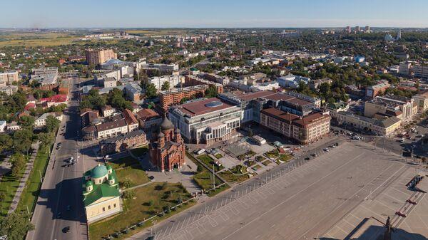 Панорама города Тулы