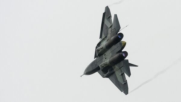 Истребитель Т-50. Архивное фото