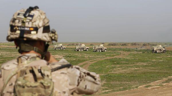 Американские инструкторы в Ираке