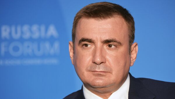 Временно исполняющий обязанности губернатора Тульской области Алексей Дюмин. Архивное фото