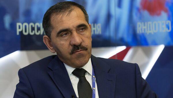 Глава Республики Ингушетия Юнус-Бек Евкуров. Архивное фото