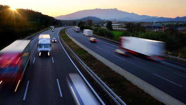 Скоростная автомагистраль. Архивное фото