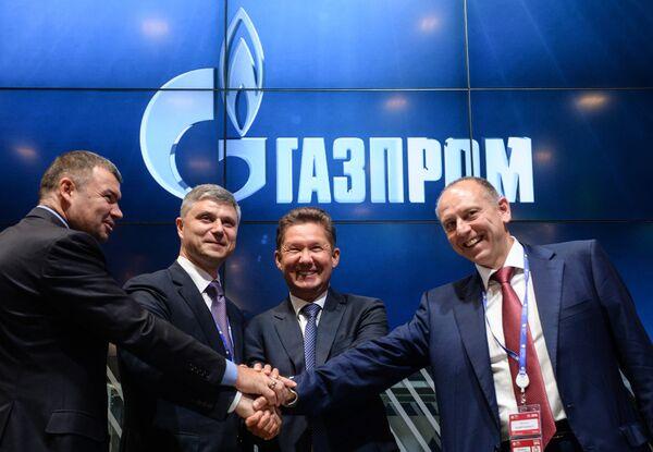 Газпром подписал ряд соглашений в рамках ПМЭФ