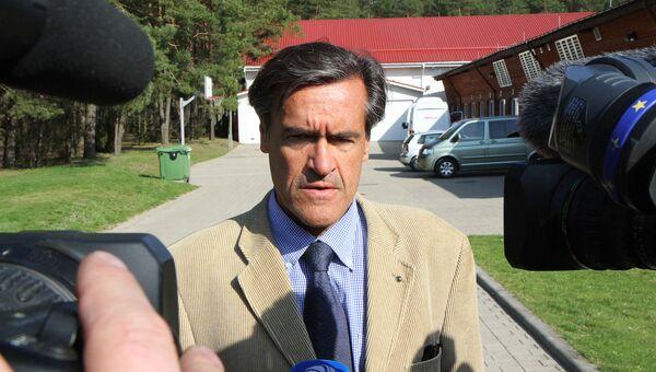 Депутат Европарламента от Испанской социалистической рабочей партии (ИСРП), бывший министр юстиции страны Хуан Фернандо Лопес Агилар