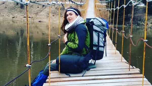 Туристка Мария Гагарина. Архивное фото
