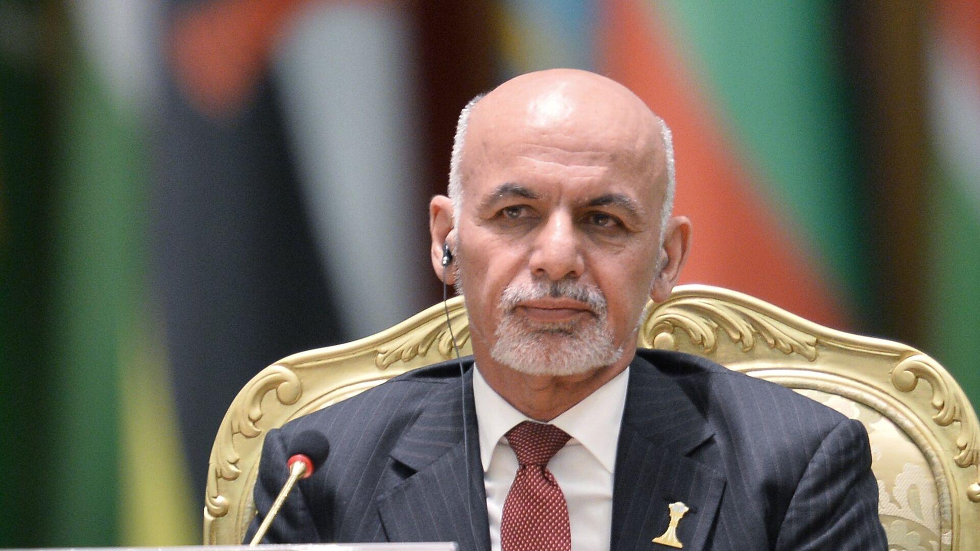 Президент Афганистана Мохаммад Ашраф Гани  - РИА Новости, 1920, 23.07.2021