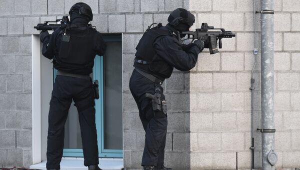 Сотрудники правоохранительных органов Германии. Архивное фото