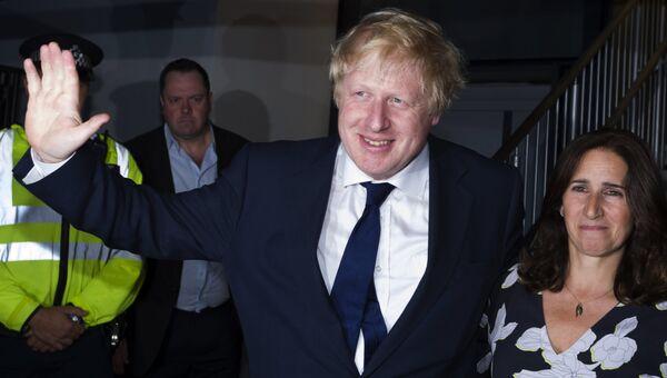 Бывший мэр Лондона Борис Джонсон. Архивное фото