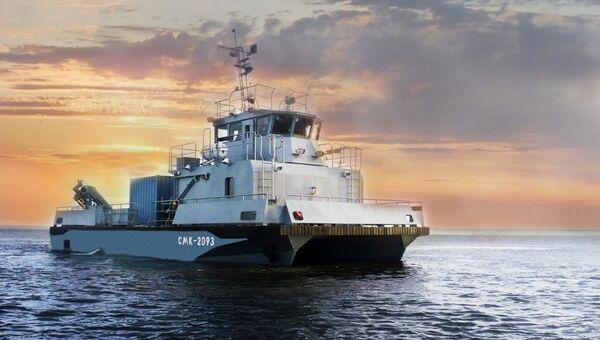Многофункциональный модульный катер поисково-спасательного обеспечения проекта 23370 и 23370М