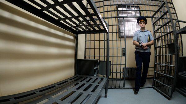 В тюремной камере. Архивное фото