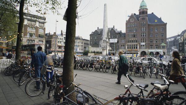 Площадь Дам в Амстердаме. Архивное фото