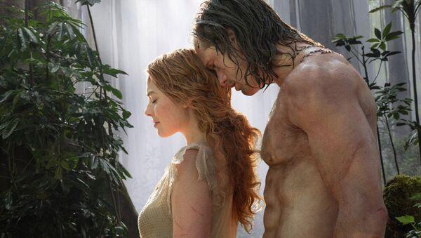 Кадр из фильма Тарзан. Легенда