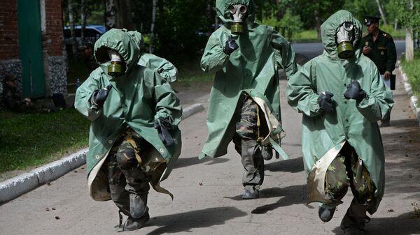Первый войсковой слет казачьей молодежи в Новосибирской области