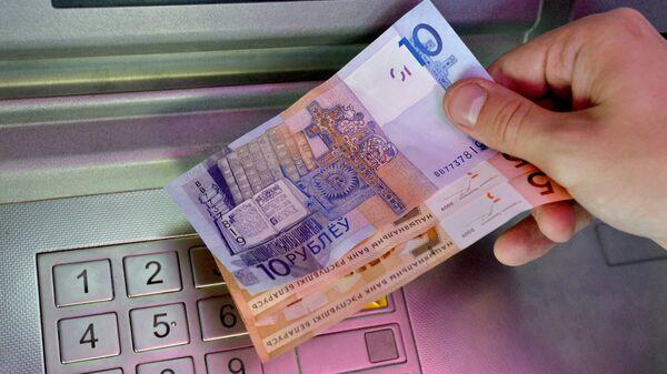 Банкомат одного из белорусских банков выдал денежные купюры нового образца