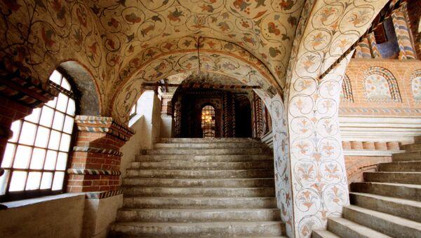Внутренние помещения Храма Василия Блаженного