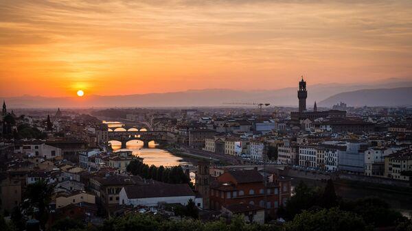 Флоренция. Тоскана, Италия. Архивное фото