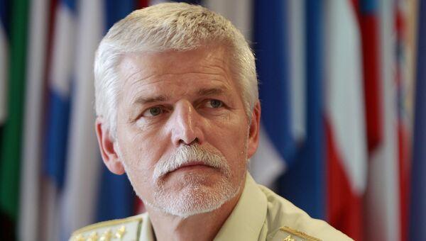 Генерал чешской армии Петр Павел, глава Военного комитета НАТО. Архивное фото