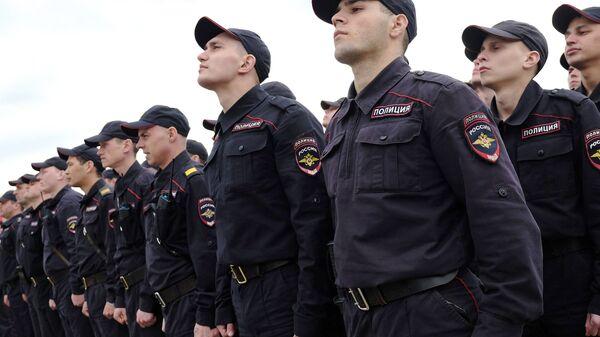 Сотрудники российской полиции. Архивное фото