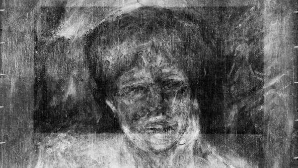 Портрет актрисы Жанны Самари, Пьер Огюст Ренуар, рентген