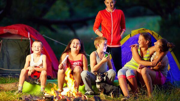 Летний детский лагерь