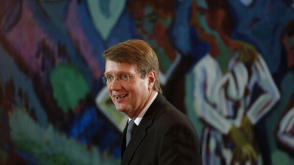 Председатель правления форума Петербургский диалог с немецкой стороны Рональд Пофалла. Архив