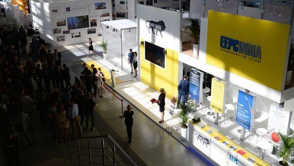 Международная промышленная выставка Иннопром -2016 в выставочном центре Екатеринбург-Экспо в Екатеринбурге