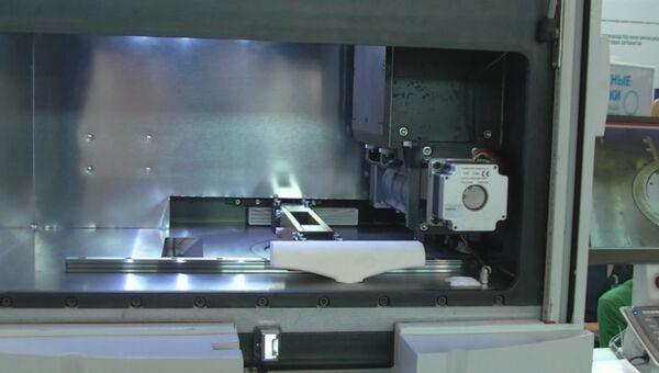Первый промышленный российский 3D-принтер представили на Иннопроме-2016