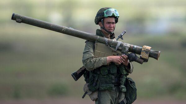 Военные учения в Армении. Архивное фото