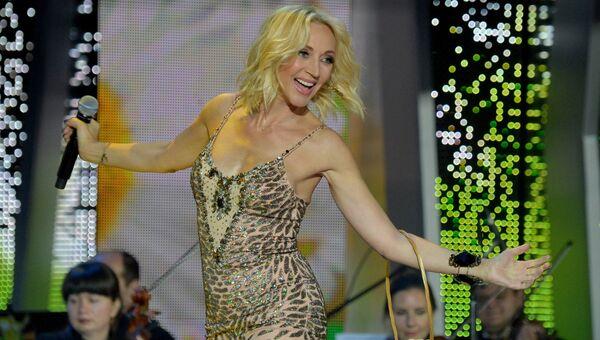 Певица Кристина Орбакайте. Архивное фото