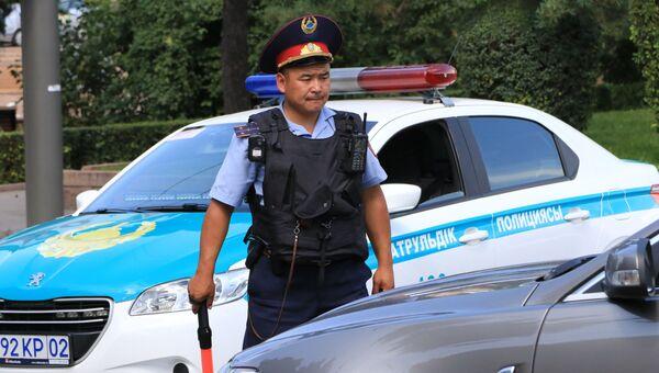 Казахская полиция. Архивное фото
