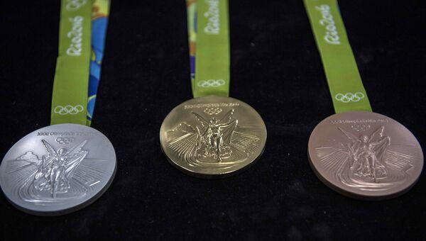 Олимпийские медали в Рио-де-Жанейро. Архивное фото