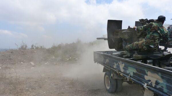 Вооружённые силы Сирии ведут боевые действия