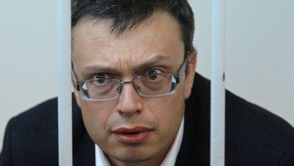 Первый заместитель руководителя ГСУ СК РФ по Москве Денис Никандров в суде. Архивное фото