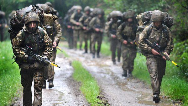 Военнослужащие вооруженных сил Соединенного королевства. Архивное фото