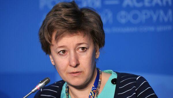 Член Коллегии (министр) по торговле Евразийской экономической комиссии Вероника Никишина. Архивное фото