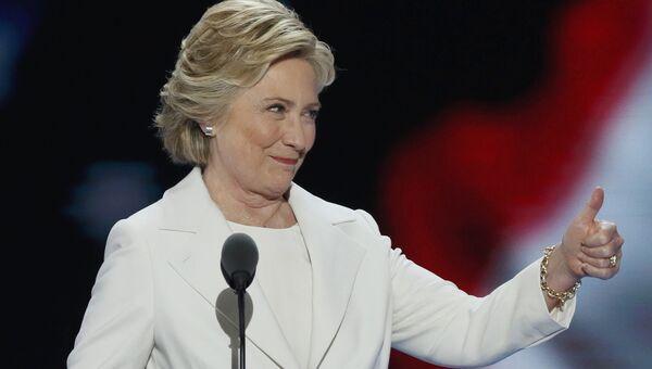 Кандидат в президенты США от Демократической партии Хиллари Клинтон. 29 июля 2016
