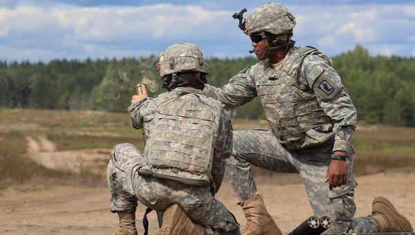 Совместные учения войск НАТО в Европе. Архивное фото