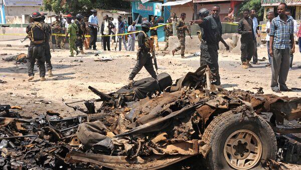 Последствия взрыва, Сомали. Архивное фото