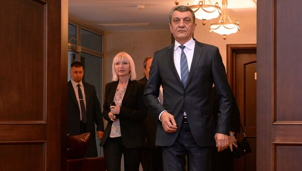 Новый полномочный представитель президента РФ в Сибирском Федеральном округе Сергей Меняйло, прибывший в Новосибирск