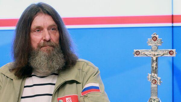 Пресс-конференция путешественника Федора Конюхова