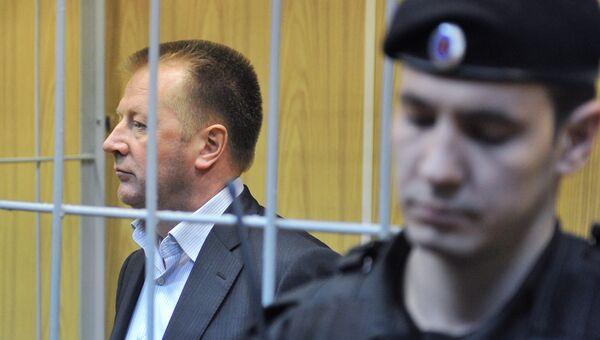 Генеральный директор ОАО Славянка Александр Елькин во время заседания Хамовнического суда Москвы