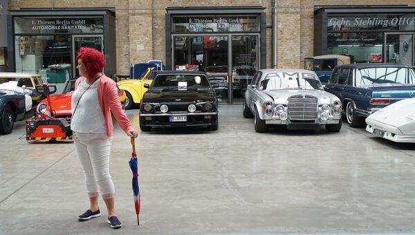 Ретроавтомобили в центре Берлина. Архивное фото.