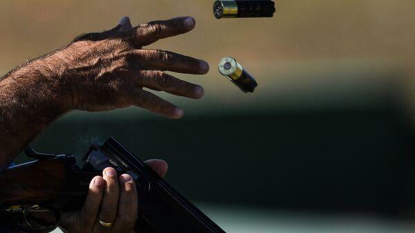 Соревнования по стендовой стрельбе в упражнении трап на XXXI летних Олимпийских играх