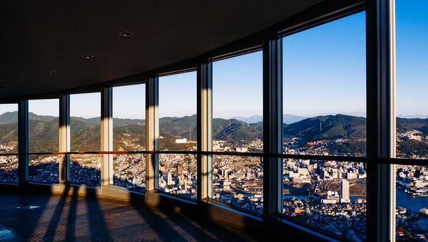 Японский город Нагасаки. Архивное фото