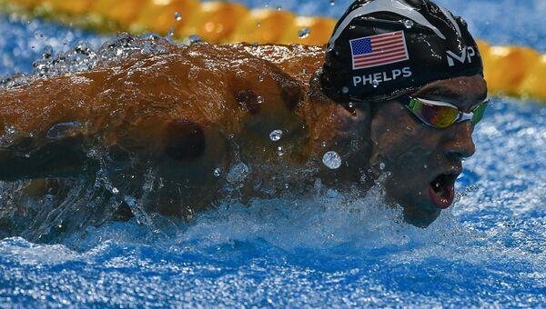 Олимпиада 2016. Плавание. Майкл Фелпс (США)