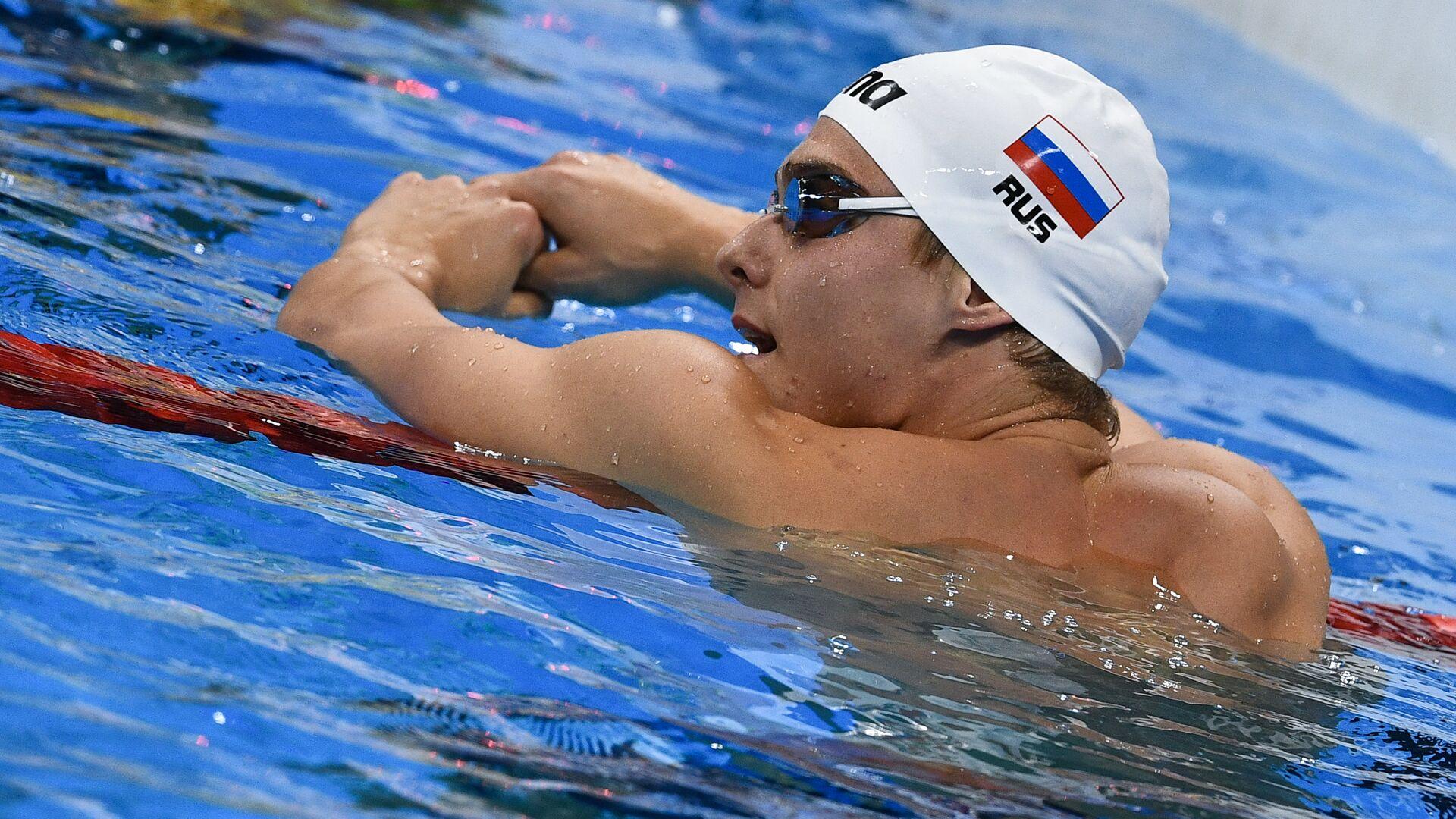 Российский пловец Владимир Морозов - РИА Новости, 1920, 06.11.2020