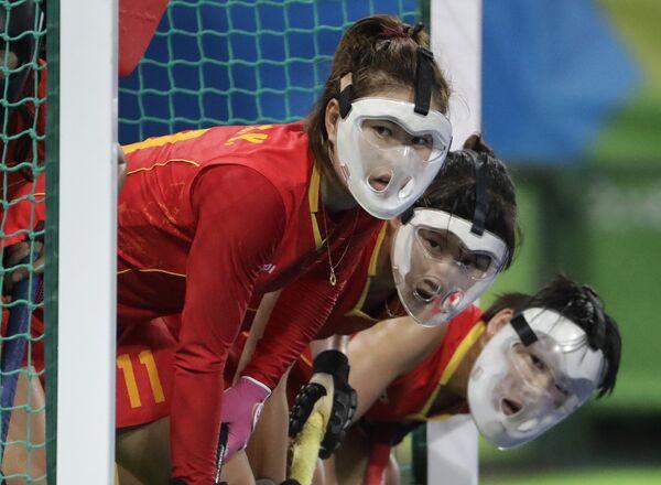 Игроки сборной Китая по хоккею на траве Китайские на летних Олимпийских играх 2016 года в Рио-де-Жанейро
