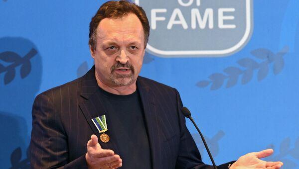 Спортивный комментатор Виктор Гусев. Архивное фото