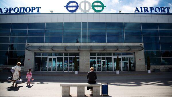 Здание международного аэропорта Уфа. Архивное фото
